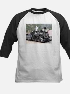 On Track: Steam train engine, Colo Baseball Jersey