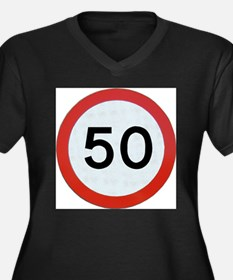 Speed sign 50 Plus Size T-Shirt