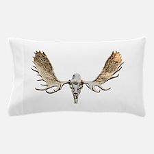 Bull moose skull Pillow Case