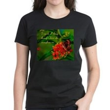 All Things Through Christ Butterfly T-Shirt
