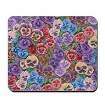 Pansies Floral Mousepad