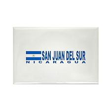 San Juan Del Sur, Nicaragua Rectangle Magnet
