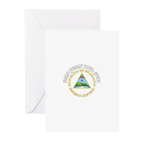 San Juan Del Sur, Nicaragua Greeting Cards (Pk of