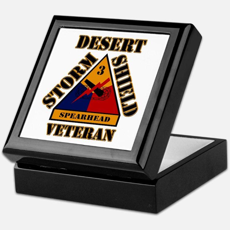 Cute Desert storm Keepsake Box