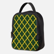 Moroccan Quatrefoil Pattern: Ye Neoprene Lunch Bag