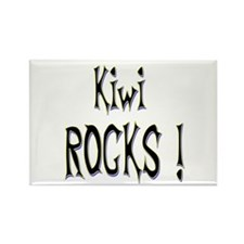 Kiwi Rocks ! Rectangle Magnet (10 pack)