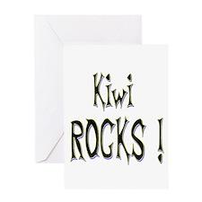 Kiwi Rocks ! Greeting Card