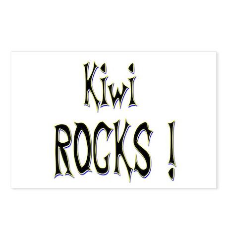 Kiwi Rocks ! Postcards (Package of 8)