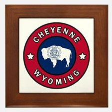 Cute Cheyenne Framed Tile