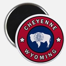 Cool Casper wyoming Magnet