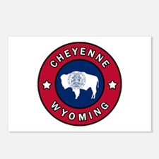 Cheyenne Wyoming Postcards (Package of 8)