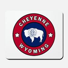 Cheyenne Wyoming Mousepad