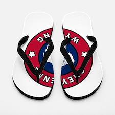 Cheyenne Wyoming Flip Flops