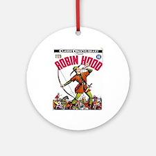 Robin_Hood_Classic_Comics_Library Round Ornament