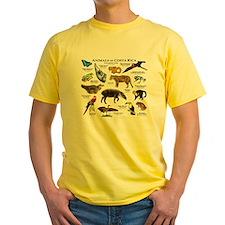 Costa Rica Animals T-Shirt