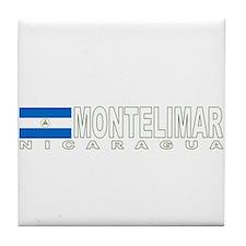Montelimar, Nicaragua Tile Coaster