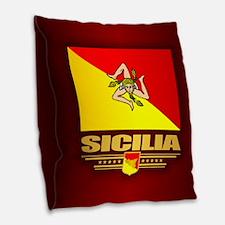 Sicilia Burlap Throw Pillow