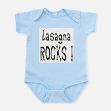Lasagna Rocks ! Infant Bodysuit