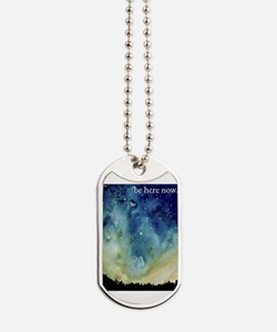 Cute Stars in the sky Dog Tags