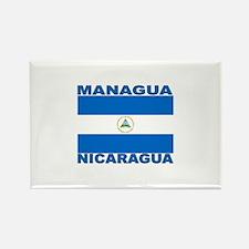 Managua, Nicaragua Rectangle Magnet