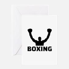 Boxing champion Greeting Card