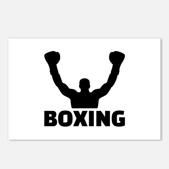 Boxing champion Postcards (Package of 8)