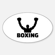 Boxing champion Sticker (Oval)