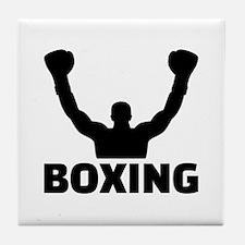 Boxing champion Tile Coaster
