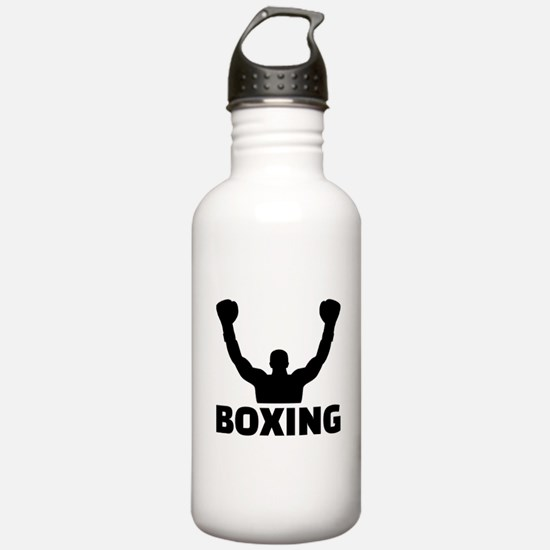 Boxing champion Sports Water Bottle