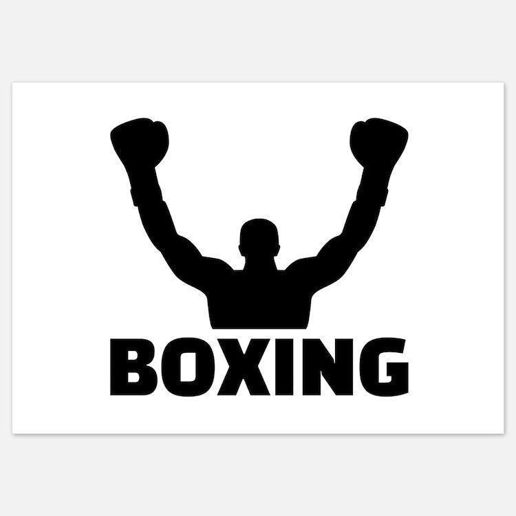 Boxing champion Invitations