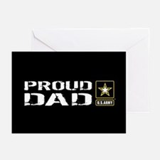 U.S. Army: Proud Dad (Bl Greeting Cards (Pk of 10)