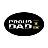 Army daughter Oval Car Magnets