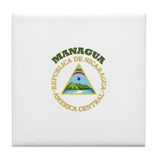 Managua, Nicaragua Tile Coaster
