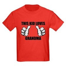 This Kid Loves Grandma T-Shirt