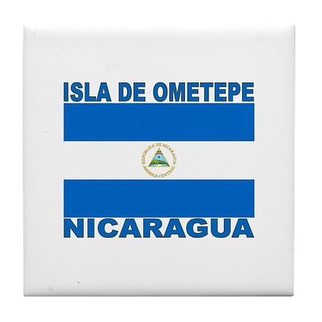 Isla de Ometepe, Nicaragua Tile Coaster