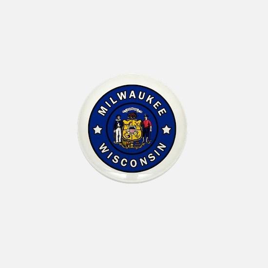 Funny Wauwatosa Mini Button