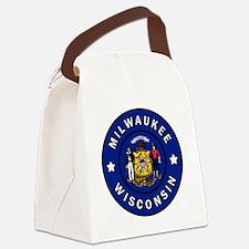 Cute West allis Canvas Lunch Bag