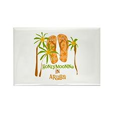 Honeymoon Aruba Rectangle Magnet