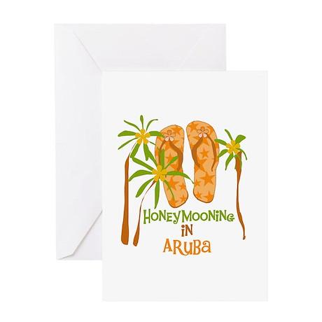 Honeymoon Aruba Greeting Card