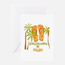 Honeymoon Aruba Greeting Card