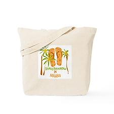 Honeymoon Aruba Tote Bag
