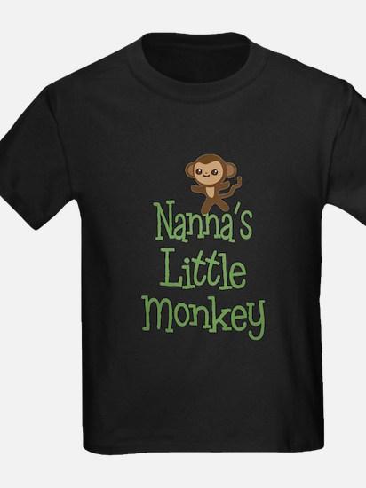 Nanna's Little Monkey T-Shirt