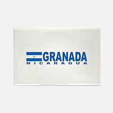 Granada, Nicaragua Rectangle Magnet