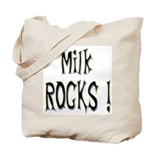 Milk Rocks ! Tote Bag