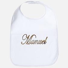 Gold Manuel Bib
