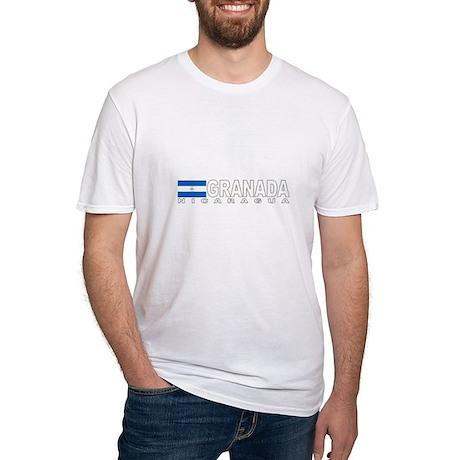 Granada, Nicaragua Fitted T-Shirt
