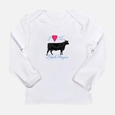 I Love My Black Angus Long Sleeve T-Shirt
