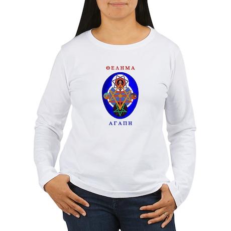Crowley Lamen Women's Long Sleeve T-Shirt