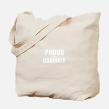Proud to be GABRIELA Tote Bag