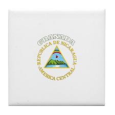 Granada, Nicaragua Tile Coaster